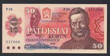 A5953 Czechoslovakia Cehoslovacia 50 korun 1987 aUNC
