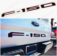 NEW Gloss Black Red edge Rear Tailgate Insert Letter 2018-2019 Ford F-150 F150