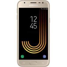 Nuovo Samsung Galaxy J3 16GB 4G LTE (2017 Modello) Oro Stock Gb Sbloccare