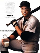 "HUGE Original 1996-1997 CAL RIPKEN JR GOT MILK 48""X70"" Bus Shelter Poster"