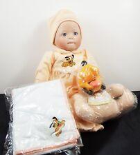 """Ashton-Drake Galleries poupée de porcelaine """"bébé PLUTO"""" DISNEY BABIES dans le pays des rêves"""