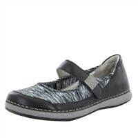 NEW Alegria Gem  EU 37 US 7 - 7.5 Black Mary Janes Shoes Flats