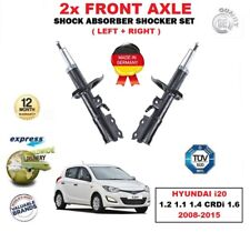 FOR HYUNDAI i20 1.2 1.1 1.4 CRDi 1.6 2008-2015 FRONT LEFT RIGHT SHOCK ABSORBERS
