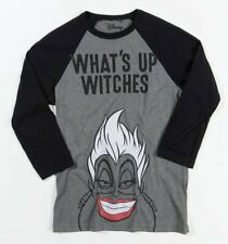 Official Ursula What's Up Witches The Little Mermaid Raglan Baseball T-Shirt
