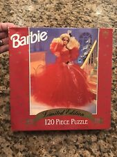 BARBIE 1988 DOLL LIMITED EDITION 120 piece Jigsaw Puzzle 1993 Sealed New