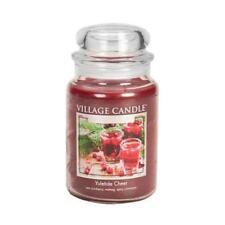 Village Candle Large Jar Premium 26oz 2018 Range Yuletide Cheer Fragrance