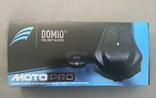 Domio Pro Motorcycle Audio + Comm System