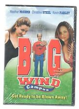 Big Wind On Campus (DVD, 2004) Kevin Farley Christine Steel Heather Mccomb