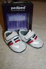 NEW! Baby Boys' Leather Pediped Tennis Shoes Fredrick Glacier Grey 6-12 months