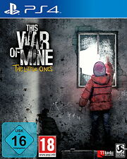 This War Of Mine: The Little Ones (Sony PlayStation 4, 2016, DVD-Box)