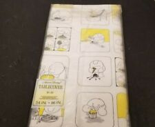 Vtg Sealed 1972 American Greetings Paper Tablecover Ziggy Comic 54`x 96`