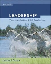 Leadership (with InfoTrac) by Lussier, Robert N., Achua, Christopher F.