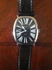 Giovine Men's watch ..with beautiful genuine black ostrich band