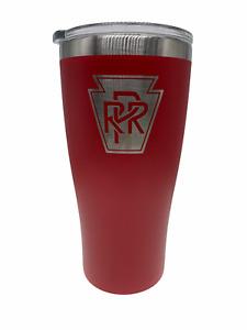 PRR Pennsylvania Railroad Stainless 20oz Tumbler Coffee mug cup O Scale modeler