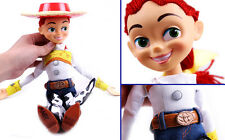NEW Disney Toy Story Plush Toy Jessie Talking Stuffed Doll Figure 15""