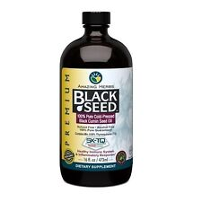 Amazing Herbs Black Seed Oil Cold Pressed 16 oz
