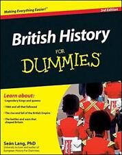 British History For Dummies by Sean Lang | Paperback Book | 9780470978191 | NEW