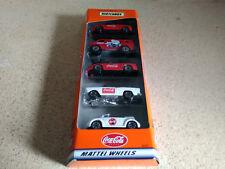 Matchbox Coca-Cola 5 Pack Gift Set 96587 Mattel Wheels 1999 New in sealed box