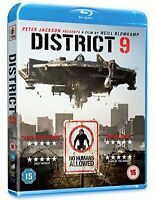 District 9 [Blu-ray] [2009] [Region Free] [DVD][Region 2]