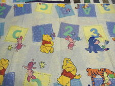 """POOH ABC BLOCK 44"""" FABRIC 3 YARDS 28"""" OUT OF PRINT"""