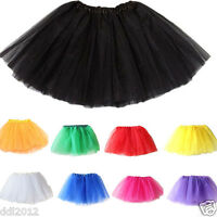 kids Baby Girls Fancy Dancewear Tutu Pettiskirt Princess Party Skirts Mini Dress