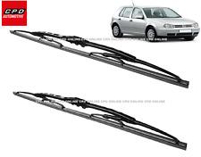 "VW Golf MK4 Hatchback 1997-2004 Front Hook Metal Wiper Blades 21""+19"" Wipers"