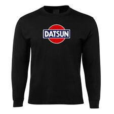 New Black Datsun Retro LS T Shirt Size S -5XL +7XL