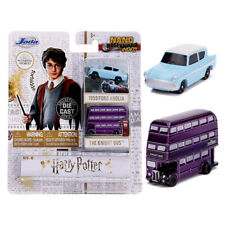 JADA HARRY POTTER 2 PACK FORD ANGLIA AND KNIGHT BUS