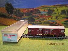 Wagon couvert Electrotren N°1450 pour locomotive Fleischmann