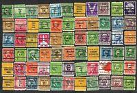 66 U S Precancel Stamps Used FREE Shipping