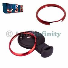 Red Smart Key Fob Replacement Ring For 08-13 Mini Cooper R55 R56 R57 R58 R59 R60