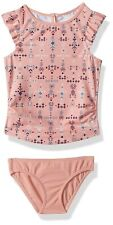 ROXY 161980 Little Girls Printed Boho Tankini Two-Piece Swimsuit Size 2