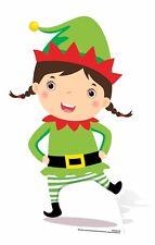 Mini Christmas Elf Cardboard Cutout / Standee / Standup festive decoration