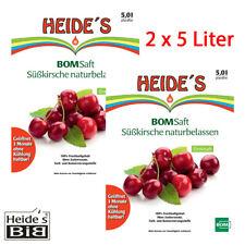 BOMSaft Süßkirsche naturbelassen 2 x 5L-BiB - 2er-Pack