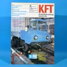 DDR KfT Kraftfahrzeugtechnik 6 1976 Shiguli-Kombi IFA W 50 QEK Junior Bastei 25