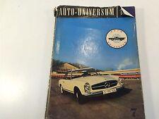 1964 Auto Universum Published By Arthur Logoz Switzerland Volume 7 HC/DJ
