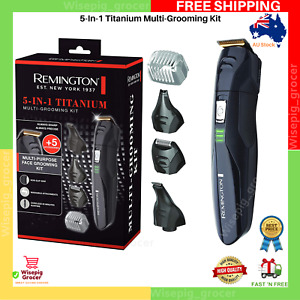 High Quality Remington 5-in-1 Titanium Multi Grooming Kit | FREE SHIPPING NEW AU