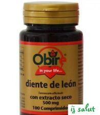 DIENTE DE LEÓN 500 MG. (EXTRACTO SECO) 100 comprimidos obire diente leon