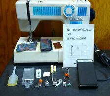 White 1510 Sewing Machine Heavy Duty Leather Canvas Upholstery Free Arm Portable