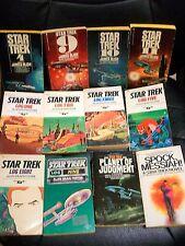 Lot of 17 Star Trek Tv movie  paperback Vintage + enterprise