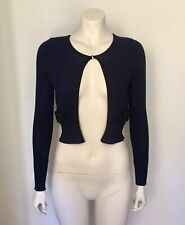 Alannah Hill Navy Cardigan - Size 10