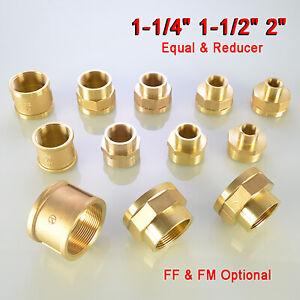"BSP Thread Male to Female Nipple Bush Adapter Reducing Sockets 1-1/4"" 1-1/2"" 2"""