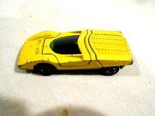 1973 Mattel Red Line Hot Wheel Shell Promo Ferrari 512S-Enamel Yellow