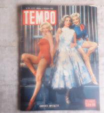 TEMPO n.51 17 12 1953  in copertina Marilin Monroe, Lauren Bacall, Betty Grable