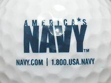 (1) NAVY - UNITED STATES MILITARY DEPARTMENT OF NAVY.COM LOGO GOLF BALL