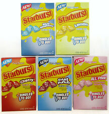 NEW! Starburst ~ 6 Packets ~ Zero Sugar ~ Drink Mix ~ 5 Boxes
