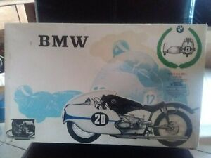 maquette rare MOTO BMW 1/9 SIDE CAR 500c PROTAR NEUF SOUS BLISTER boite usure