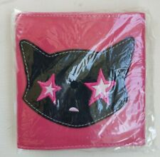 Vintage EMILY THE STRANGE pink Bootsy Wallet brand new collectible kitty cat