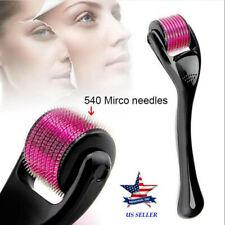 540 Titanium Micro Needle Scar Derma Roller Dermaroller Skin,Hair Loss 0.5mm