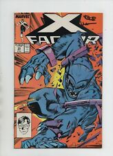 X-Factor #33 - Signed by Bob Wiacek - For All the World to See! (Grade 9.2) 1988